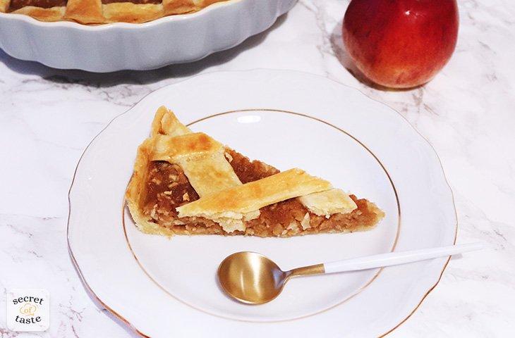 Tarta jabłkowo-gruszkowa z pigwą