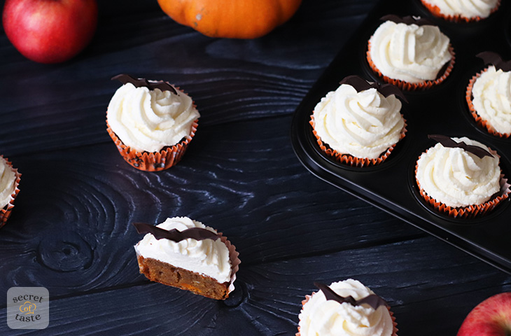Dyniowe muffiny na Halloween