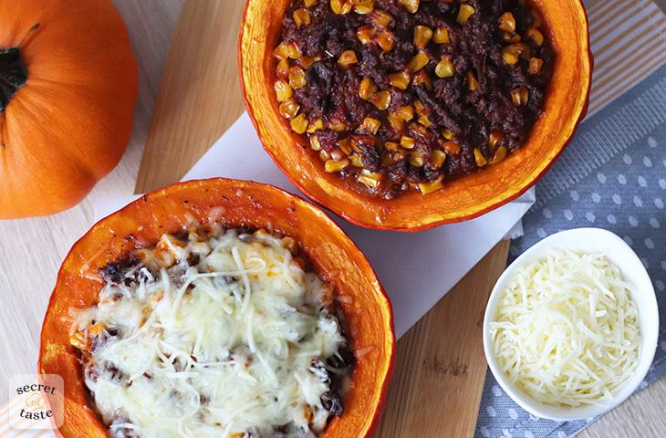 Dynia faszerowana po meksykańsku